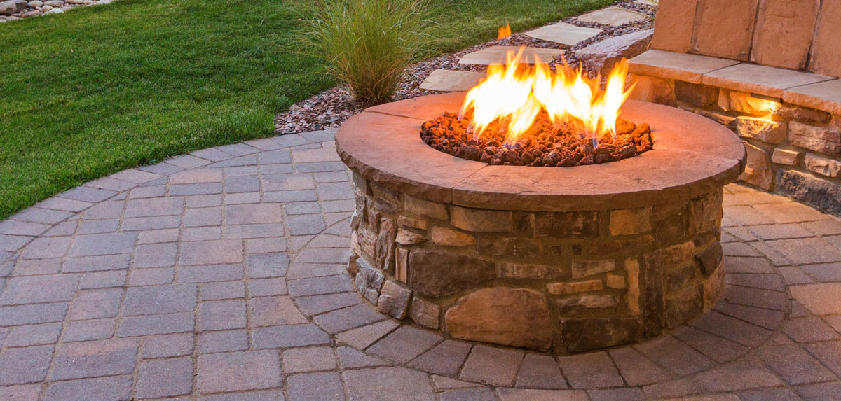 Fire Pit Meb Landscaping Hardscapes Rhode Island